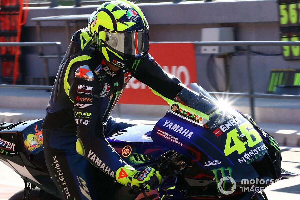 """Valentino Rossi: """"A fejlesztések befagyasztása nem lehet kifogás"""""""