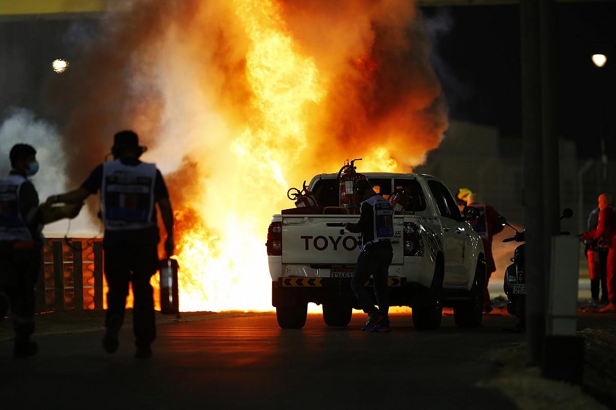 FIA рассказала, как будет расследовать аварию Грожана