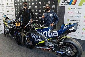 Avintia presentó su proyecto de MotoGP 2021 con Bastianini y Marini