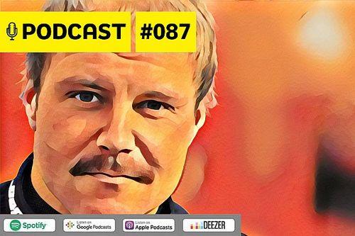 Podcast #087 - Bottas reagirá na Mercedes? Como compará-lo a Barrichello, Webber e cia?
