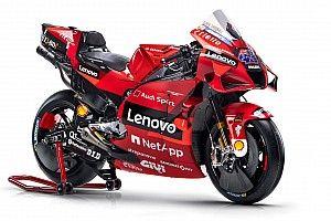 【ギャラリー】ドゥカティ2021年仕様MotoGPマシンカラーリング、全アングル