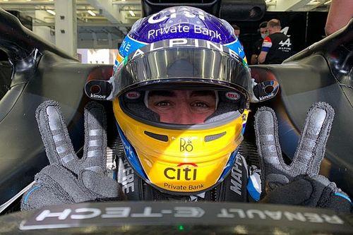 """Alonso, """"un gran día de test"""" con los Pirelli 18 pulgadas en Bahrein"""