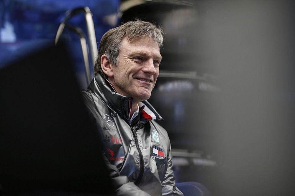 メルセデスF1のアリソン、技術職の第一線から退く理由は「年老いたお荷物になりたくなかったから」