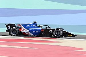 Zhou snatches Bahrain F2 feature race pole, but under investigation