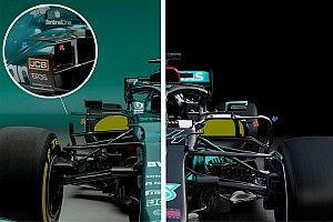 No detalhe: como as regras de 2021 punem Mercedes e Aston Martin na F1?