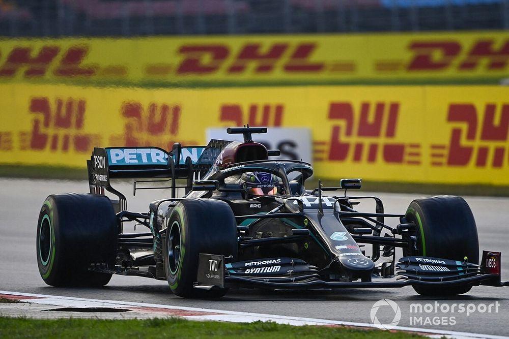 F1トルコGP決勝速報:ハミルトンが今季10勝目で7度目王座決定。フェルスタッペン6位