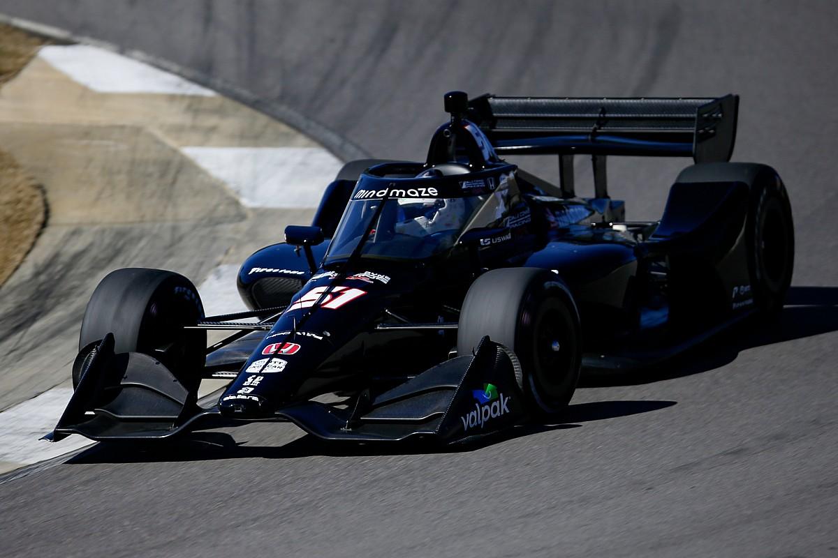 Meski Merasa Nyeri, Grosjean Puas dengan Tes Perdana IndyCar
