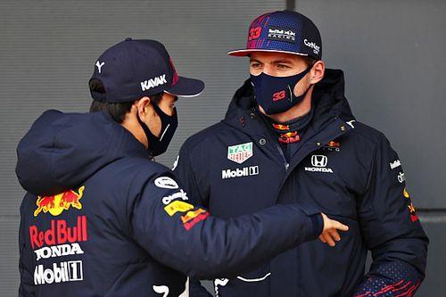 """Verstappen espera que Pérez aporte """"información"""" a Red Bull"""