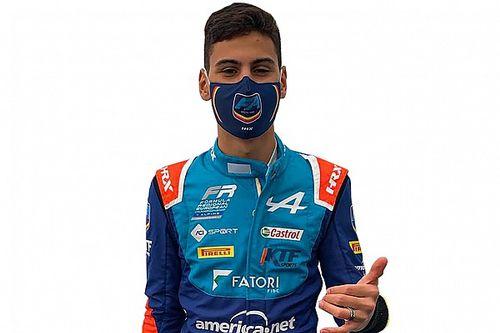 """Fórmula Regional Europeia: Gabriel Bortoleto quer """"provar talento"""" em nova categoria"""