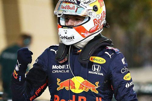 Verstappen begint F1-seizoen 2021 met ijzersterke pole in Bahrein