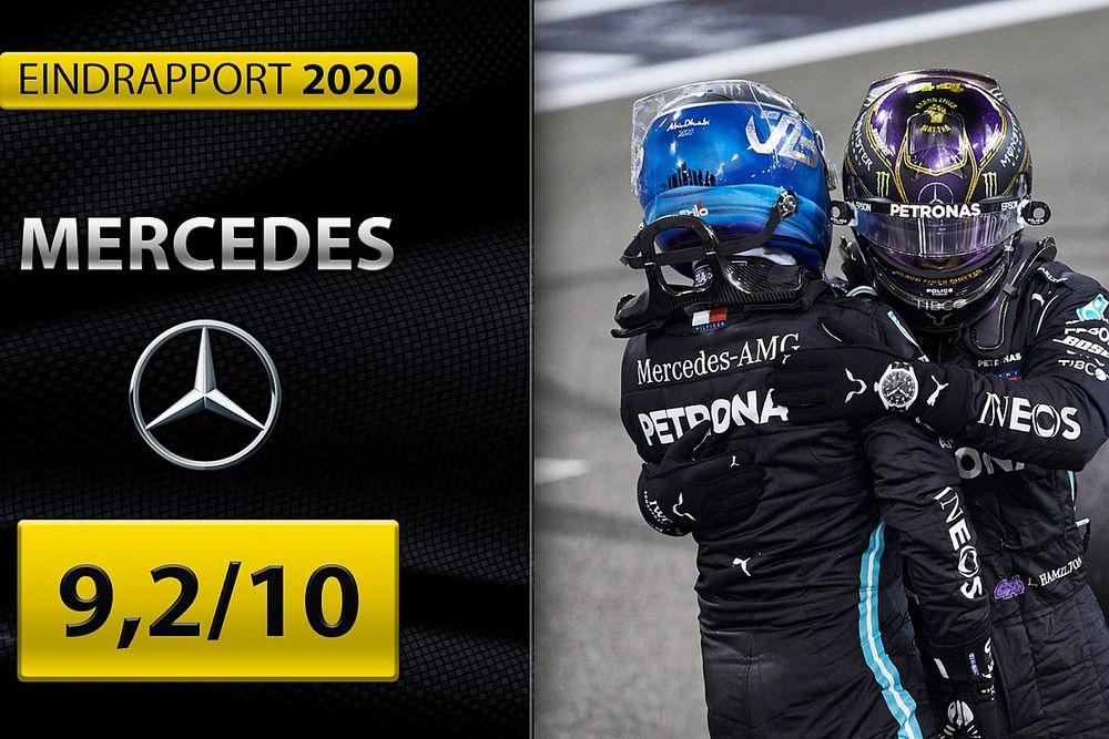 Eindrapport Mercedes: Weer ongrijpbaar dankzij sublieme innovaties