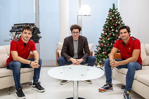 """Ferrari: """"Leclerc ve Sainz, 2021'e eşit statüde başlayacaklar"""""""