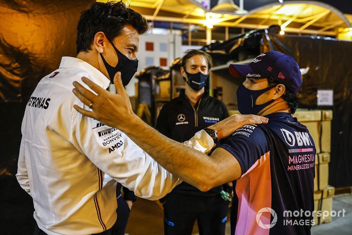 """Wolff: """"Red Bull gana experiencia y velocidad con Sergio Pérez"""""""