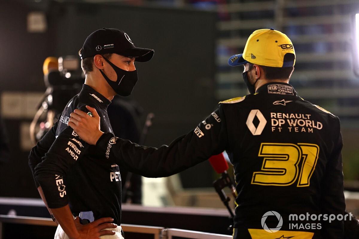 """F1: Russell e Ocon seguem como """"opções"""" para Mercedes em 2022"""