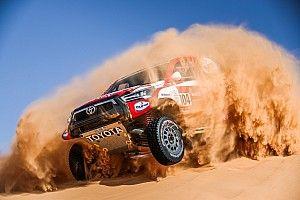 Autos, Étape 5 - De Villiers se révolte, le Dakar fait des dégâts