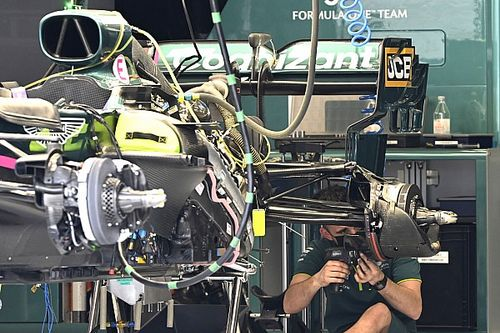 Brote de positivos en COVID-19 en Aston Martin F1