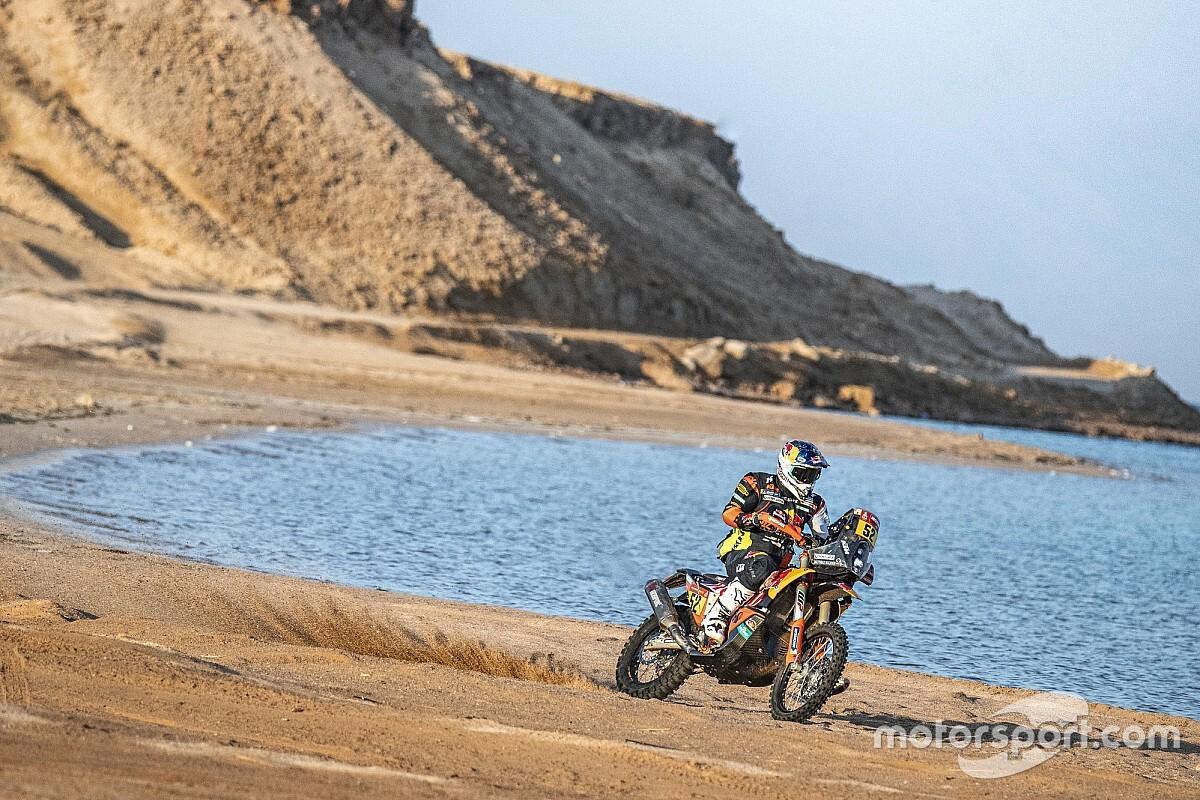 Las fotos de la increíble etapa 9 del Dakar 2021