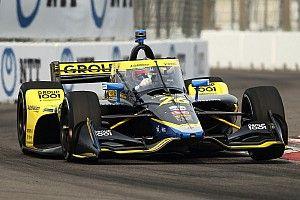 St. Petersburg IndyCar: Herta denies Harvey pole, Power struggles
