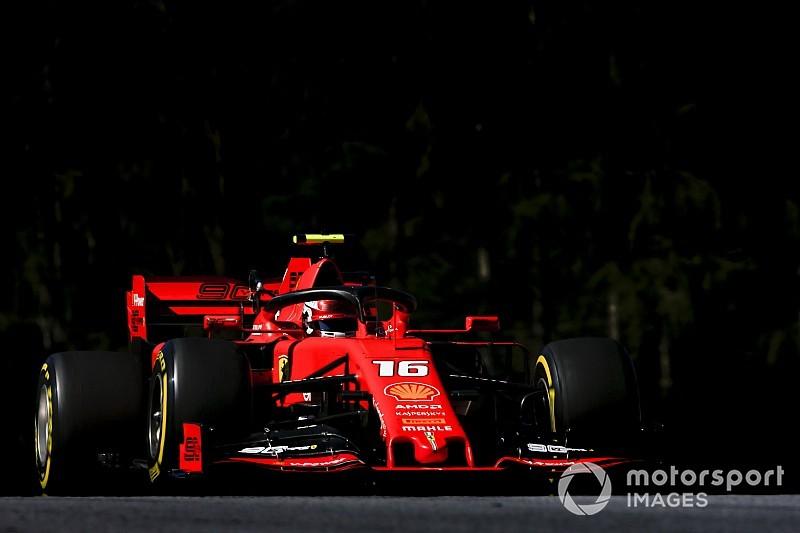"""Leclerc: """"Ferrari più vicina alle Mercedes. Domani proviamo a tenerle dietro"""""""