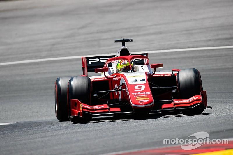 Hatalmasat ment Mick Schumacher a Red Bull Ringen az F2-ben