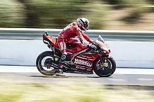 Petrucci topt spectaculaire derde training GP Spanje, Rossi naar Q1