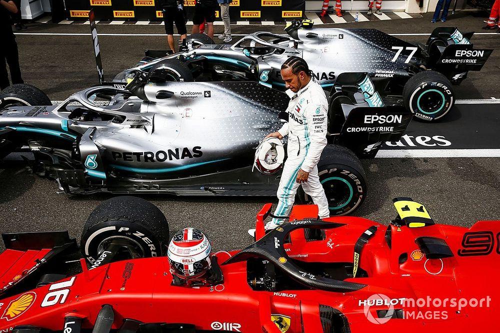 """F1: Hamilton diz que regras de 2021 precisam de """"sérias mudanças"""""""