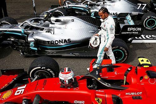 """Hamilton: """"No estamos jugando con Ferrari"""""""