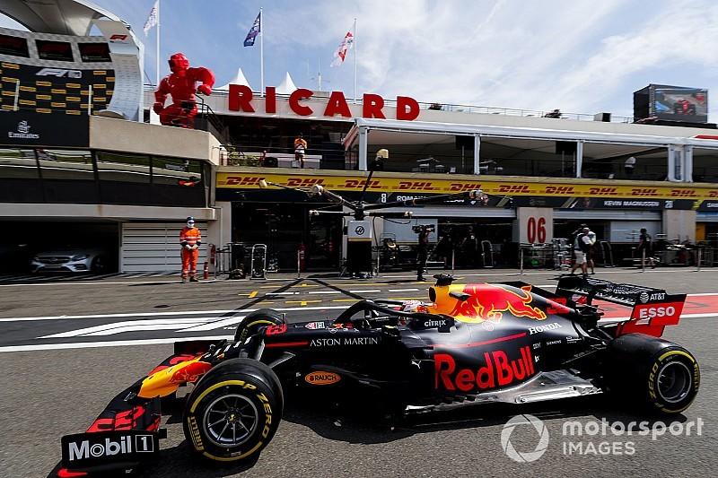 F1フランスFP1速報:ハミルトン首位。レッドブル・ホンダのフェルスタッペン4番手