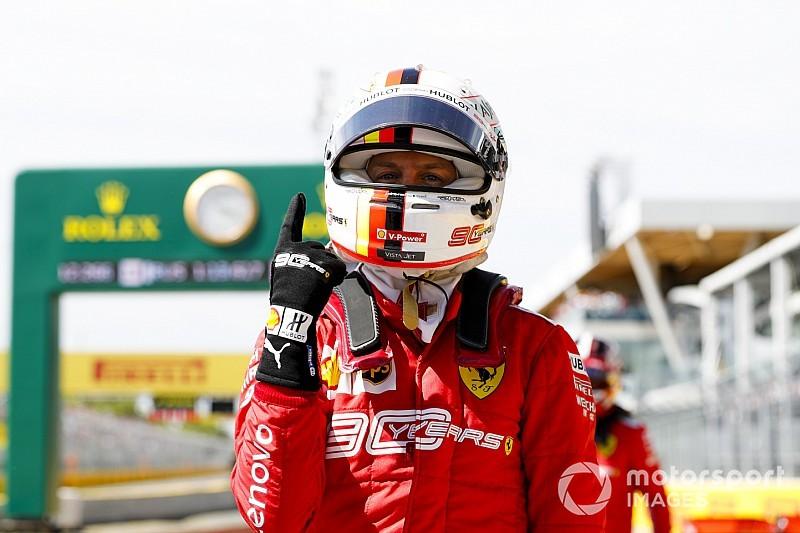 Vettel le roba la pole a Hamilton en Canadá