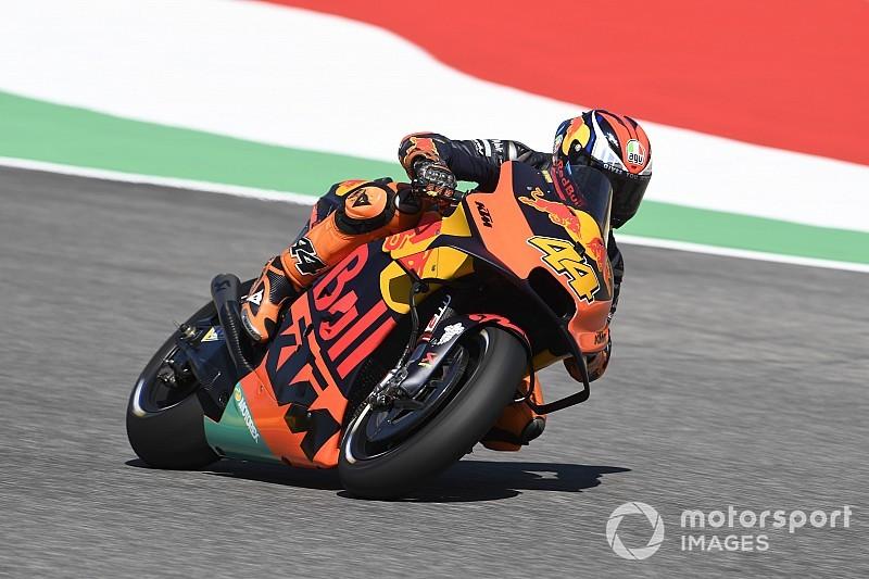 """Espargaro reed Rossi vrijdag voorbij """"alsof hij stilstond"""""""