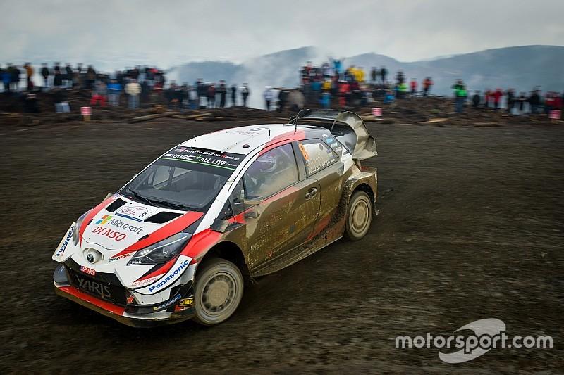 Tanak domina y acaba líder en el primer día del Rally de Chile