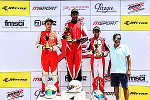 Umashankar leads after first JK Tyre X-30 Karting round