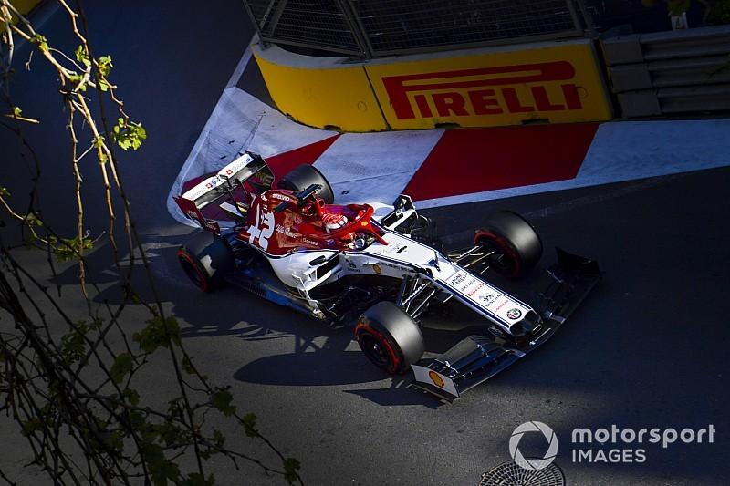 Fotogallery: l'Alfa Romeo Racing nel Gran Premio d'Azerbaijan