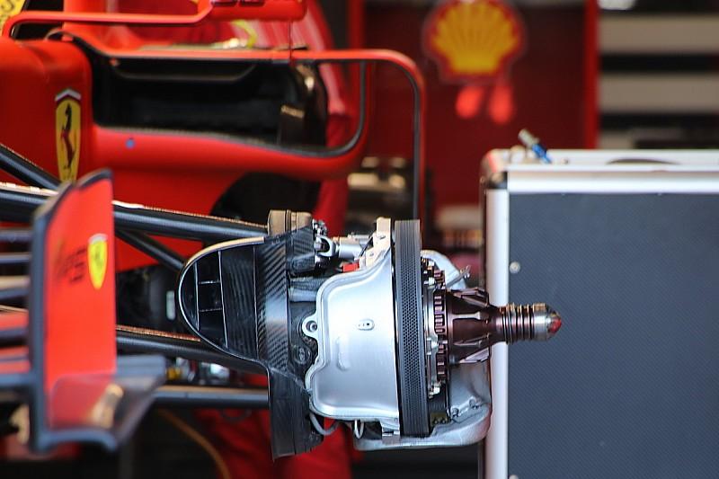 Fotos: los detalles de los coches de F1 actualizados para Canadá