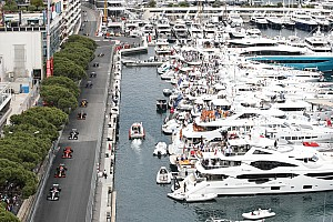 Work continues on Monaco F1 track despite restrictions