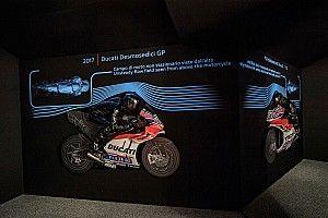"""""""Anatomia della velocità"""": Ducati svela in una mostra l'aerodinamica della MotoGP"""