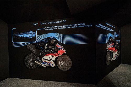 Ducati inaugura una galería sobre las claves de la aerodinámica en MotoGP