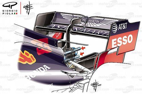 Red Bull e Toro Rosso con gli scarichi alti: è vietato soffiare sulla struttura deformabile