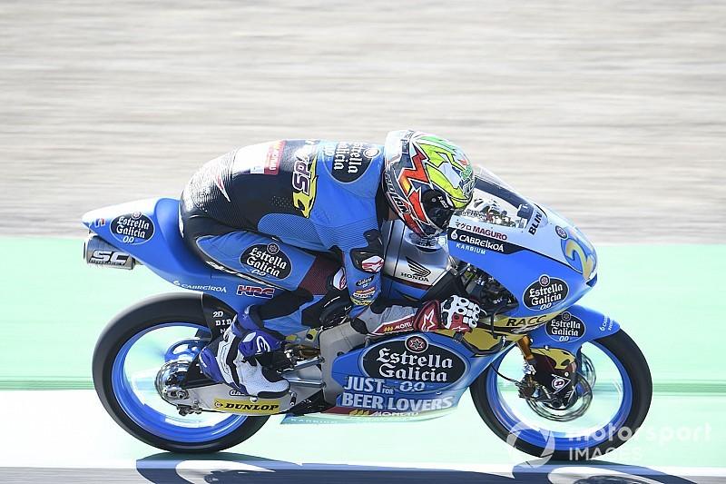 Barcelona Moto3: İlk antrenmanın lideri Lopez, Can 5. oldu