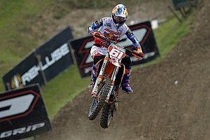 Jorge Prado firma la pole position della MX2 a Saint Jean d'Angely