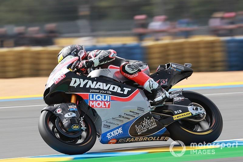Diaporama : le Suisses Aegerter, Lüthi et Forward Racing au GP de France