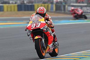 MotoGP Le Mans: Marquez arka arkaya ikinci kez kazandı!