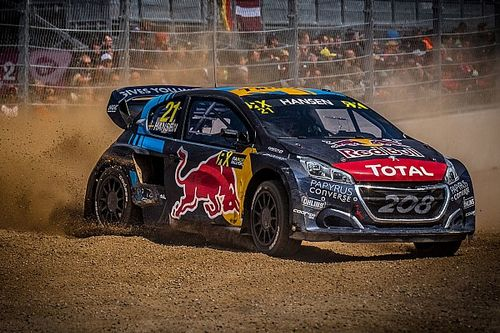 Silverstone World RX: Hansen brothers dominate Saturday heats