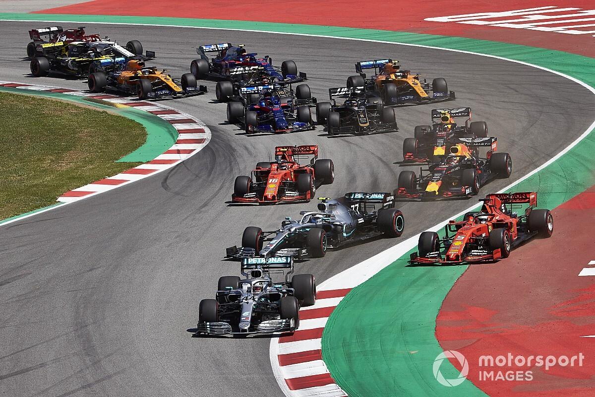 F1 blijft experimenteren met formats na 'reversed grid'-plan