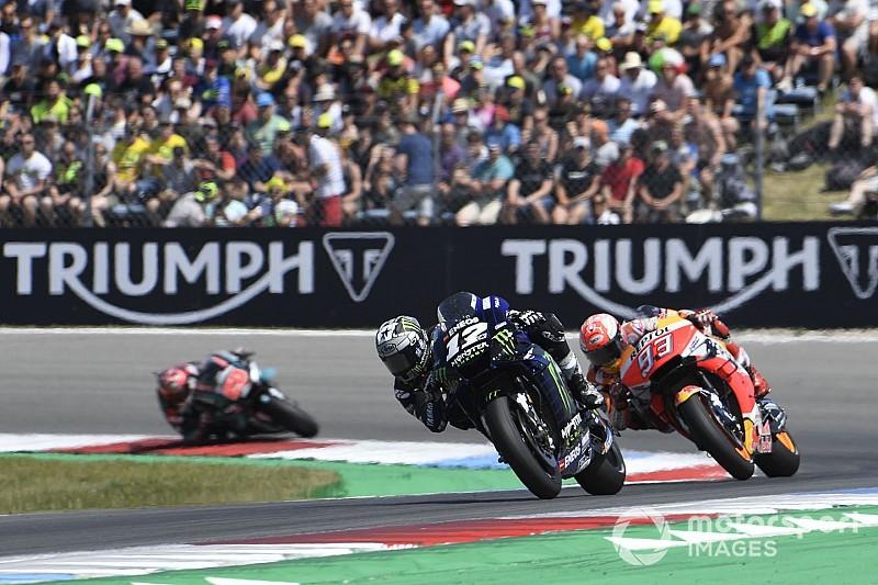 El semáforo del Gran Premio de Holanda de MotoGP