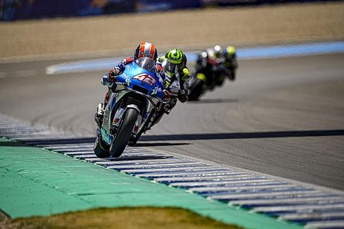 Rins 'supertrots' dat hij finish in loodzware GP Andalusië haalde