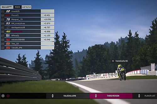 Rossi returns for Misano MotoGP Virtual Race