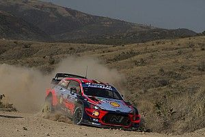 Neuville suffers nasty crash in private Hyundai test