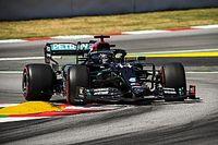 Spanish GP: Hamilton beats Bottas to pole by 0.059s