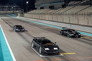 Les trois Bugatti de l'ère moderne réunies pour une séance photo